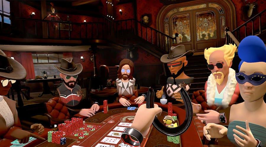 saloon en réalité virtuelle